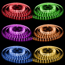 LED Streifen RGB-W 300 LED 5 Meter 95 Watt 19 W/m 4500 Lumen 24V IP20 Chip SMD 5050 4in1