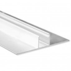 LED Aluminium Trockenbauprofil T3 Deneb 2 Meter inkl. Abdeckung Opal/Klar