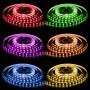 LED Streifen 5 Meter 600 SMD-LED 5050 RGB mehrfarbig 144W 24V