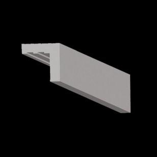profil 8 80x80mm indirekte beleuchtung led streifen wl led. Black Bedroom Furniture Sets. Home Design Ideas