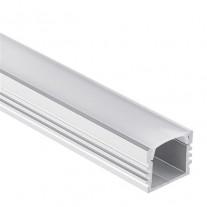 PL2 Arrakis Aluminium Profil f. LED Streifen 1m/2m + Abdeckung opal/klar