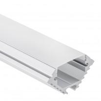 PL 11 Aluminium Profil Theemin f LED Streifen 1m/2m + Abdeckung Opal