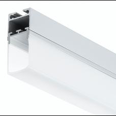 LED-Hängeleuchte Aufhängesystem PL6 C4 + PL10 Kombination inkl. Endkappen 4 meter