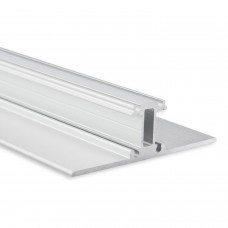 P30 Rigel LED Aluminium Profil UP & DOWN inkl. Abdeckung Opal/Klar