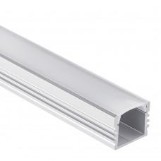 LED-Aluminium Profil PL2 Arrakis inkl. Abdeckung Opal 10-100m