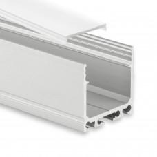 PN6 Agena C1 Aluminium Profil f. LED Streifen 2m + Abdeckung Opal