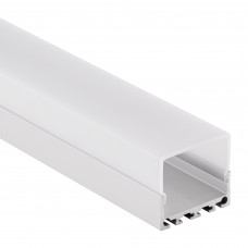 PN4 Kuma C2 Aluminium Profil f. LED Streifen 2m + Abdeckung Opal