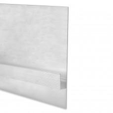 LED Aluminium Trockenbauprofil T2.1 Diadem 2 Meter inkl. Abdeckung Opal