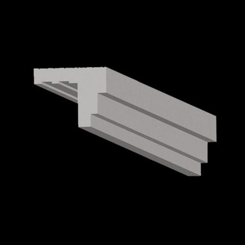 profil 9 100x80mm indirekte beleuchtung led streifen wl led. Black Bedroom Furniture Sets. Home Design Ideas