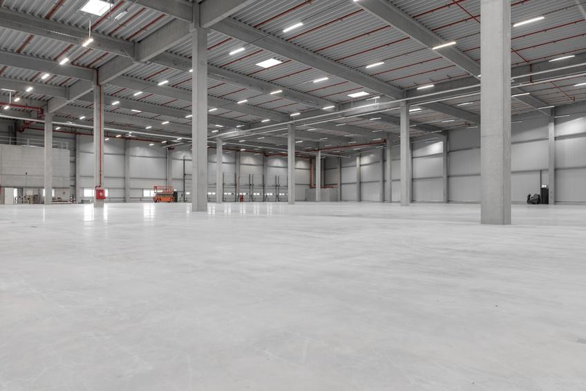 Logistikcenter LED-Projekt