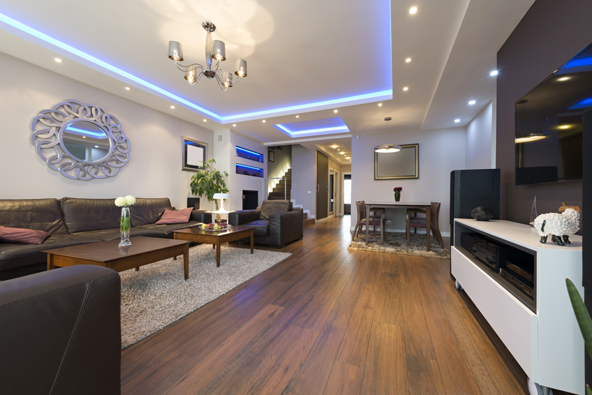 Haus LED-Projekt