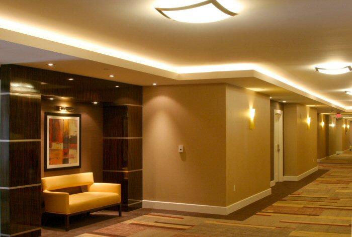 LED-Projekt Hotel